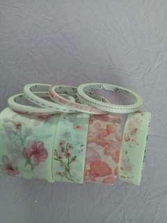Floral washy tapes