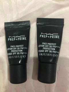 Mac Prep+Prime face protect lotion spf 50/PA+++