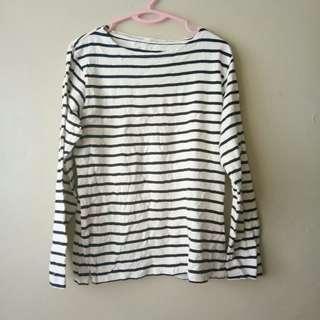 Black & White Stripes Shirt #MMAR18