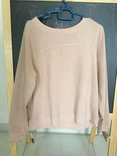 H&M sweater dusty pink