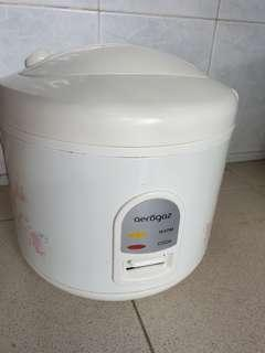 🚚 Aerogas rice cooker