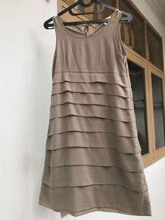 Mididress Dress Wanita
