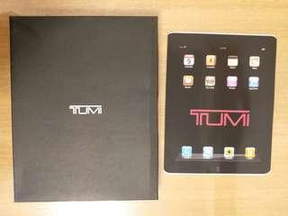 Tumi Leather bag / case / Envelope For iPad (Brown)(95% new)