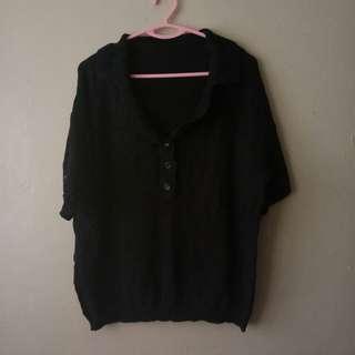 Black Collar Top #MMAR18