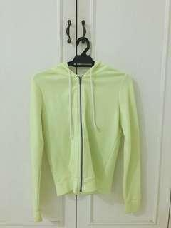 Jacket (Neon Green) From H&M