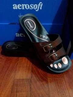 Aerosoft Slip On Slipper bronze (Ladies)