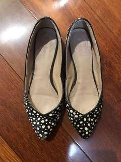 Sportsgirl Leather Flats Size 36