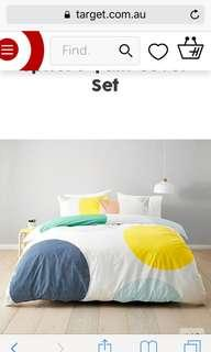 Target Australia Sphere Quilt Cover and Pillow Cases