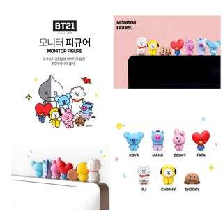BT21 OFFICIAL MONITOR FIGURE