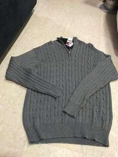 Tommy Hilfiger cotton knitted Long sleeves sweater