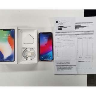 Iphone x 256gb white 白色 99%New