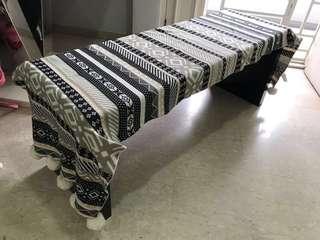 Blanket with Pom Pom