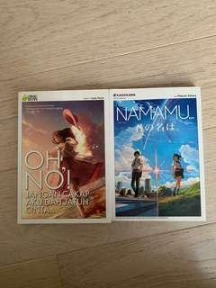 Malay Anime Novel