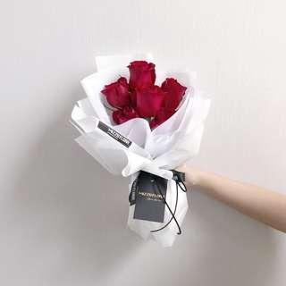 Fresh Rose Flower Bouquet | Red Rose | Birthday Flower | Anniversary Gift | Surprise | Flower Bouquet | Flower delivery | 玫瑰花束 |玫瑰 |鲜花运送 |生日花束 |红玫瑰