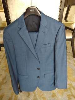 Authentic BOSS Suits jacket and pants Blue