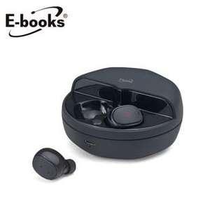 🚚 E-books SS1 真無線雙耳磁吸藍牙耳機
