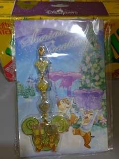 Chip 'n' Dale cell phone accessory鋼牙與大鼻手機裝飾品