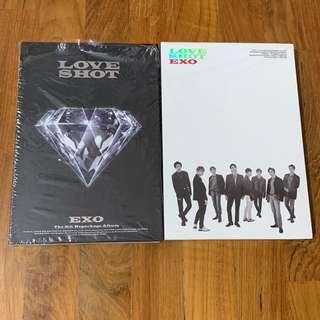 Exo Love Shot Unsealed Album + Poster
