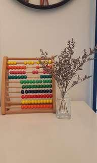 🚚 Wooden Abacus / Counting Beads