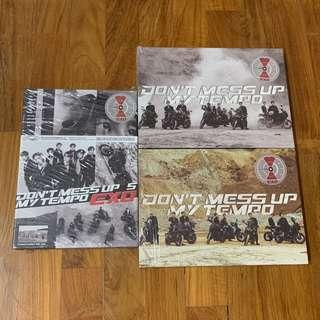 Exo Don't Mess Up My Tempo DMUMT Unsealed Album + Poster