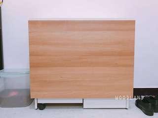 蝴蝶枱 餐桌 摺疊 折疊 可儲物 extendable dining table