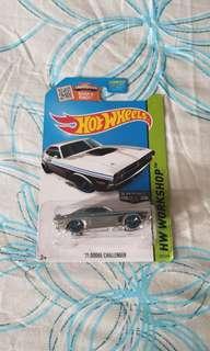 Hotwheels Zamac Dodge Challenger