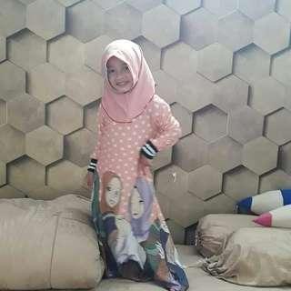 Gamis + jilbab