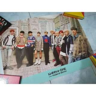 [ Ready stock ] Wanna one official poster
