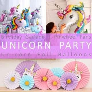 🚚 Unicorn party