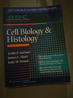 REPRICED❗ BRS Cell Biology & Histology - 6th Ed (Original Copy)