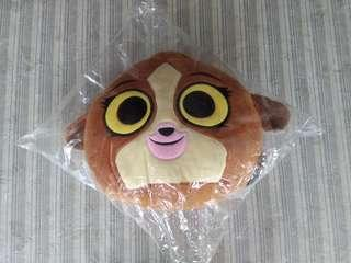 Brand New Kou Kou Cushion / Soft Toy & Barney  (Not Disney)