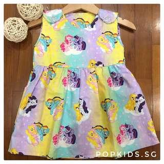 🌈Rainbow My Little Pony Simply Dress