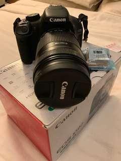 🚚 Canon 550D lens 18-135mm