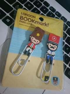 Pembatas Buku atau Bookmark London