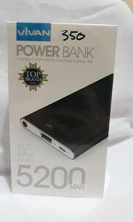 Power Bank VIVAN 5200MAH ORI