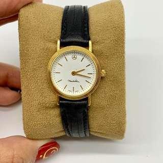 Mercedes-Benz watch vintage 18k 750 gold