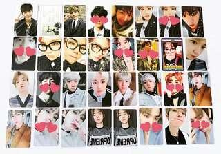 [WTS] Exo Baekhyun Official Photocards