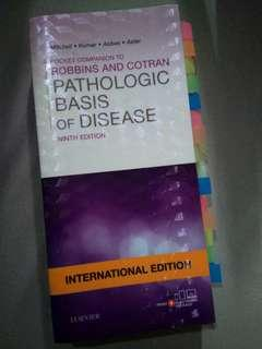 POCKET COMPANION - Robbins and Cotran Pathologic Basis of Disease - 9th Ed (Original Copy)