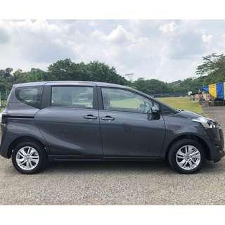 TOYOTA SIENTA - BRAND NEW!! THE MPV OF CHOICE AMONGST DRIVERS!