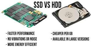 Upgrade to ssd laptop desktop computer