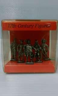🚚 英國17世紀軍人 合金