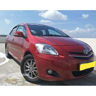 TOYOTA VIOS 1.5L- RELIABLE WORKHORSE, COMFORTABLE, ECONOMICAL, LOW FUEL CONSUMPTION, UBER/GRAB READY! (**SOLID CONDITION**)