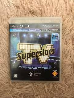PS3 遊戲光碟 Superstars
