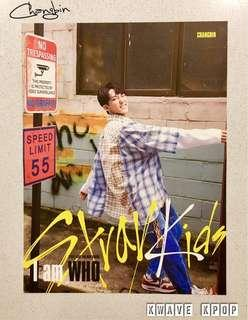 STRAY KIDS {I AM WHO} - Official Lyrics Poster Bromide - MEMBER CHANGBIN