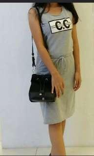 Casual dress grey