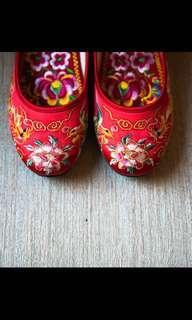 結婚用品 褂鞋