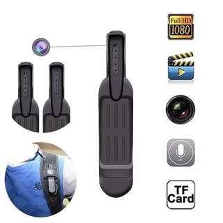 🚚 🆕🆒 Pen Mini Camera Full HD 1080P Secret Camera Wearable Body Pen Camera Digital Mini DVR Small DV Camcorder Support 32GB Card
