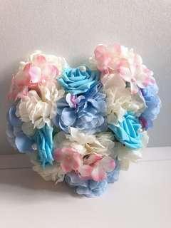 婚禮車花 裝飾 全套