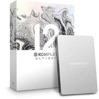 Native Instruments KOMPLETE 12 ULTIMATE Collector's Edition 900GB Library included