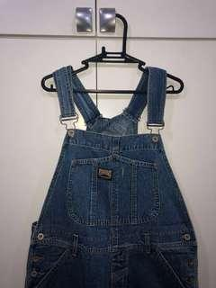 Authentic Vintage Guess Overalls